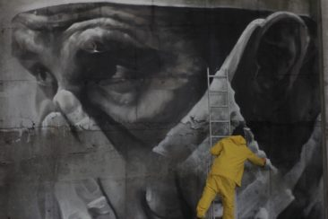 Guido van Helten's New Piece to Commemorate Chernobyl 30 year anniversary